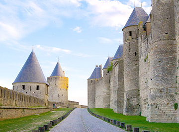 A chauffeured outing to Carcassone