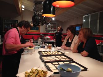 canape making