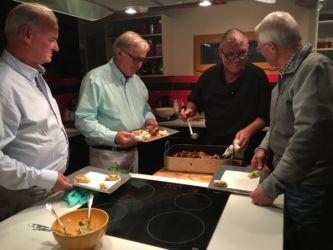Laurent, quail & men