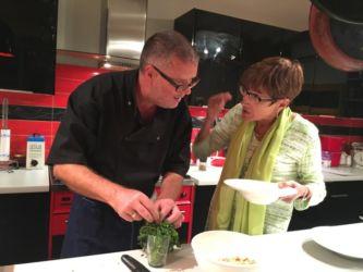 Laurent with Mary Ellen